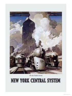 New York Central System by Leslie Ragan