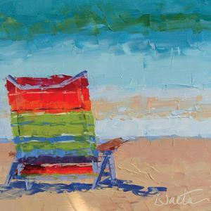 At the Beach by Leslie Saeta