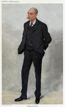 3-Piece Suit 1909 by Leslie Ward