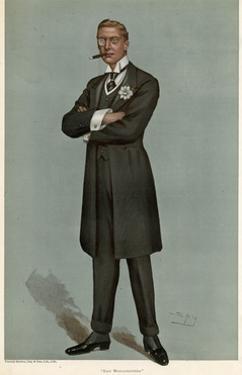 Austen Chamberlain, 1899 by Leslie Ward