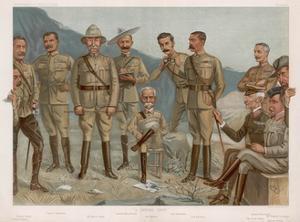 Boer, British Generals by Leslie Ward