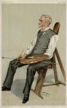 Edward Poynter by Leslie Ward