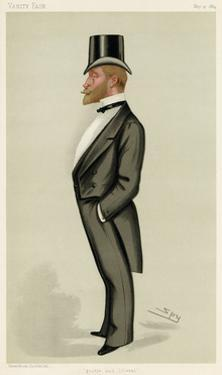 Frederick S. A. Hanbury-Tracy, Vanity Fair by Leslie Ward