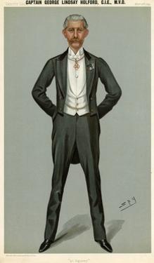 George Holford by Leslie Ward