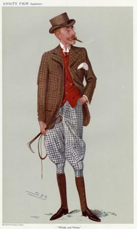 James Buchanan by Leslie Ward