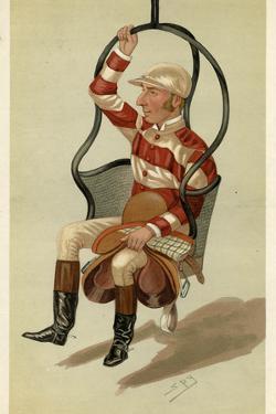 Jockey, Tom Cannon 1885 by Leslie Ward