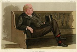 John Macdonald, Lord Kingsburgh by Leslie Ward
