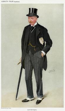 Lord Barrington, Vanity Fair by Leslie Ward