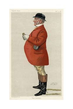 Mordaunt Fenwick Bisset, Vanity Fair by Leslie Ward