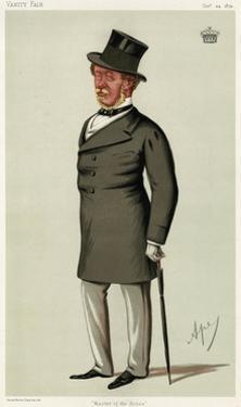 Orlando George Charles Bridgeman, Vanity Fair by Leslie Ward