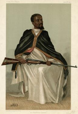Ras Makonnen or Makunan by Leslie Ward