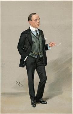 Robert Falcon Scott by Leslie Ward