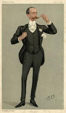 Robert T. Hermon-Hodge, Vanity Fair by Leslie Ward