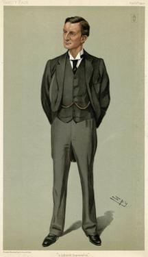 Sir Edward Grey, VF 1903 by Leslie Ward