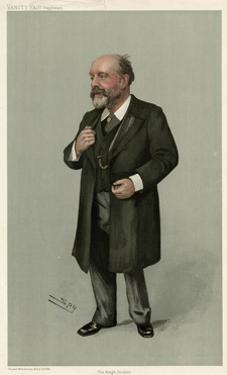 Sir George Critchett by Leslie Ward