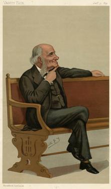 Sir George Grove, Vanity Fair by Leslie Ward