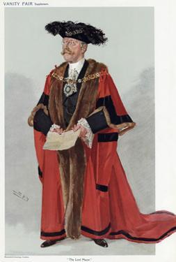 Sir George Truscott by Leslie Ward