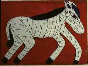 Zebra by Leslie Xuereb