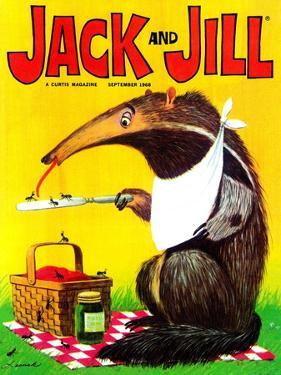 Anteater's Lunch - Jack and Jill, September 1968 by Lesnak