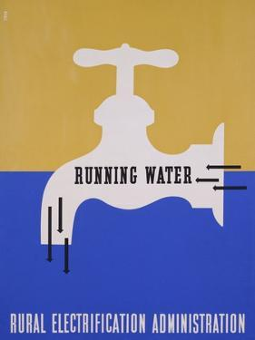 Running Water: Rural Electrification Administration by Lester Beall