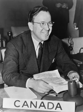 Lester Pearson, Canada's Delegate to the General Assembly of the United Nations, 1947