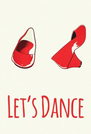 Let's Dance Red Shoes
