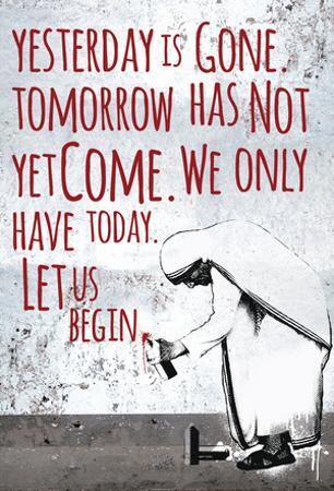 Let Us Begin Wall