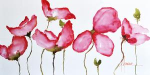 Horizontal Flores II by Leticia Herrera