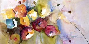 Horizontal Flores V by Leticia Herrera