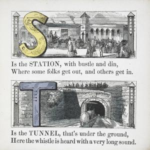 Letters S and T: Station and Tunnel.