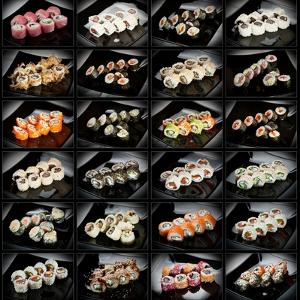 24 Types Of Sushi Rolls by Lev4