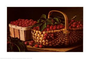 Still Life with Berries by Levi Wells Prentice