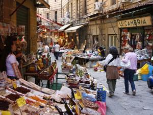 Vucciria Market, Palermo, Sicily, Italy, Europe by Levy Yadid