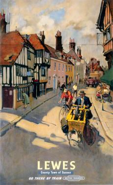 Lewes, BR, c.1955