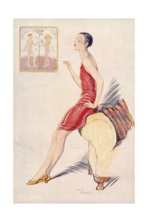 1927 by Lewis Baumer
