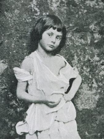 Alice Liddell Alice Liddell as a Beggar Girl by Lewis Carroll