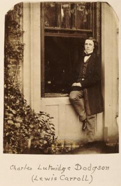 Lewis Carroll (Charles Lutwidge Dodgson 1832-1898), Self Portrait, circa 1863 by Lewis Carroll