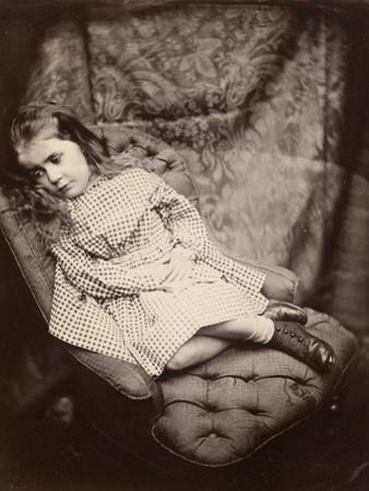 Margaret Frances Langton Clarke, 1864, Printed C.1866 by Lewis Carroll
