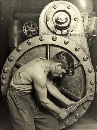 Powerhouse Mechanic, C.1924
