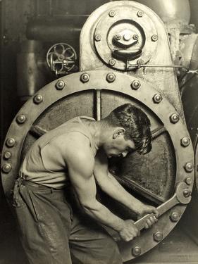 Powerhouse Mechanic, C.1924 by Lewis Wickes Hine