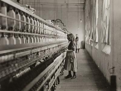 Sadie Pfeifer, a Cotton Mill Spinner, Lancaster, South Carolina, 1908