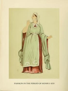 Fashion in the Period of Edward I by Lewis Wingfield