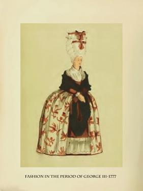 Fashion in the Period of George III by Lewis Wingfield