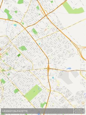 Lexington-Fayette, United States of America Map