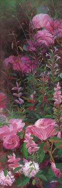 Pink Azalea Garden I by li bo