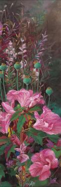 Pink Azalea Garden II by li bo