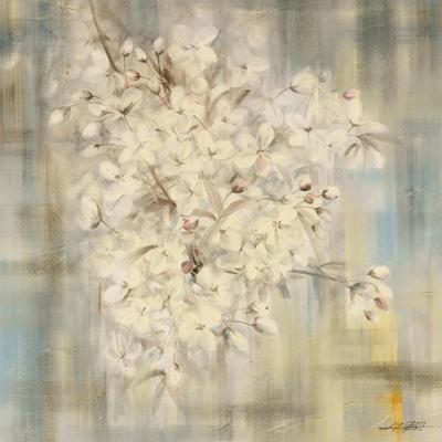 White Cherry Blossom I by li bo