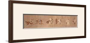 Polo Players by Li Ling