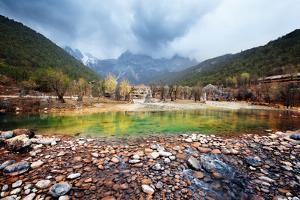 Blue Moon Valley at Lijiang, China by Liang Zhang