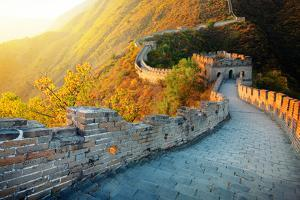 Great Wall of China in Autumn by Liang Zhang
